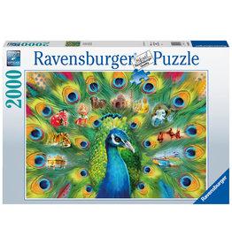 Ravensburger Ravensburger Puzzel 165674 Land of the Peacock 2000 stukjes