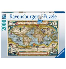 Ravensburger Ravensburger Puzzel 168255 De Wereld Rond (Around the World) 2000 stukjes