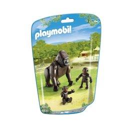 Playmobil Playmobil 6639 Gorilla met Baby's