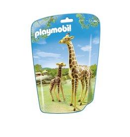 Playmobil Playmobil 6640 Giraffe Met Jong
