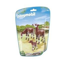 Playmobil Playmobil 6643 Okapi's met Kalf
