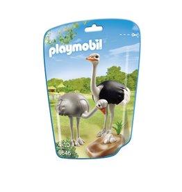 Playmobil Playmobil City Life 6646 Struisvogels met Nest