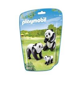 Playmobil Playmobil 6652 Panda's met Baby