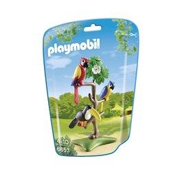 Playmobil Playmobil 6653 Papegaaien en Toekan