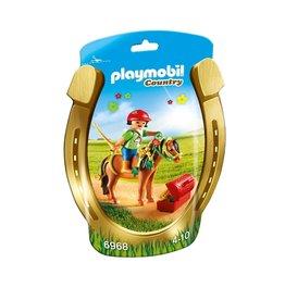Playmobil Playmobil Country 6968 Pony om te versieren Bloem