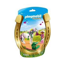Playmobil Playmobil Country 6969 Pony om te Versieren Hart