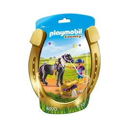 Playmobil Playmobil Country 6970 Pony om te Versieren Ster