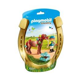 Playmobil Playmobil Country 6971 Pony om te Versieren Vlinder
