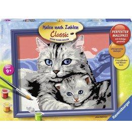 Ravensburger Schilderen op Nummer 283903 Kattenliefde