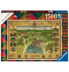 Ravensburger Ravensburger Puzzel 165995 H Potter Hogwarts Kaart 1500 stukjes