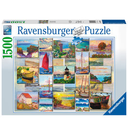 Ravensburger Ravensburger Puzzel 168200  Coastal Collage 1500 stukjes