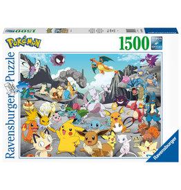 Ravensburger Ravensburger Puzzel 167845  Pokémon Classics  1500 stukjes