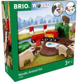 Brio World Brio 33988 Noordelijke Dierenset - Nordic Animal Set