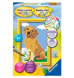 Ravensburger Schilderen op Nummer 286850 Lieve Puppy