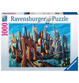 Ravensburger Ravensburger Puzzel 168125 Welkom in New York 1000 stukjes