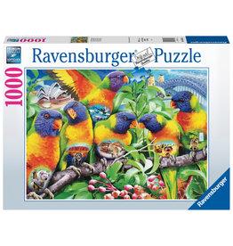 Ravensburger Ravensburger Puzzel 168156 Land van de Lorikeet 1000 stukjes