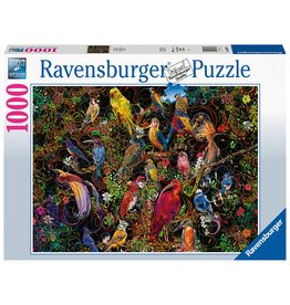 Ravensburger Ravensburger Puzzel 168323 Schitterende Vogels 1000 stukjes