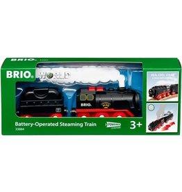 Brio Brio 33884 Stoomtrein op batterijen