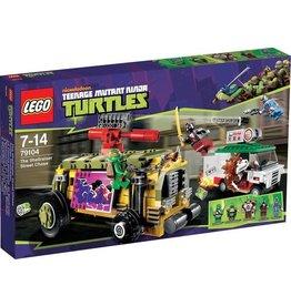 LEGO Lego Ninja Turtles 79104 - Shellraiser Straatrace - The Shellraiser  Street Chase