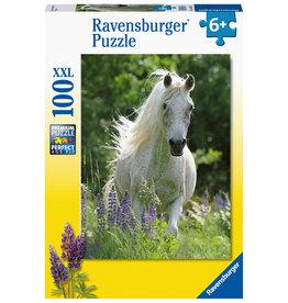 Ravensburger Ravensburger Puzzel  129270  Witte Hengst 100 stukjes XXL
