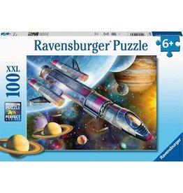 Ravensburger Ravensburger Puzzel 129393  Missie in de Ruimte  100 stukjes XXL