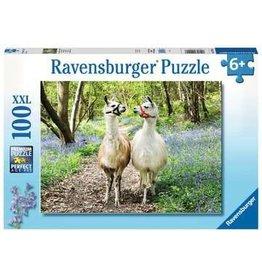 Ravensburger Ravensburger Puzzel 129416 Lama Liefde 100 stukjes XXL