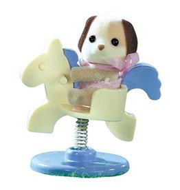 Sylvanian Families Sylvanian Families 4391A Baby-Draagdoosje Beagle op Pony