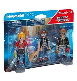 Playmobil Playmobil City Action 70670 Figurenset Boeven