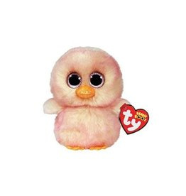 Ty Ty Beanie Boo's Feathers Roze  Paaskuiken 15 cm