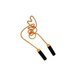 Summertime Summertime Springtouw  210 cm met glitter Oranje