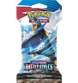 The Pokemon Company Pokémon TCG Sword & Shield Battle Styles Sleeved BO