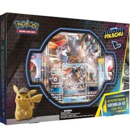 The Pokemon Company Pokémon TCG Detective Pikachu GX Pin Box Greninja