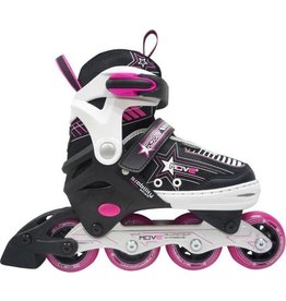 Move Inline Skates Move Star Girl Pink