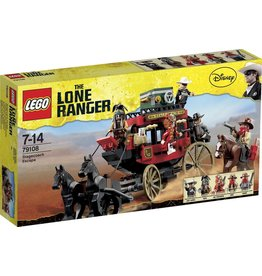 LEGO Lego The Lone Ranger 79108 Postkoets Ontsnapping - Stagecoach Escape