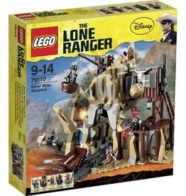 LEGO Lego The Lone Ranger 79110 Zilvermijn Vuurgevecht - Silver Mine Shootout