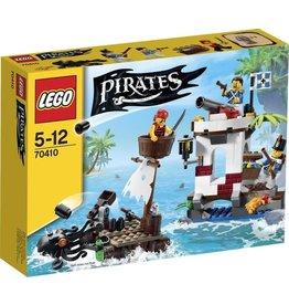 LEGO Lego Pirates 70410 Soldaten Uitkijkpost - Soldiers Outpost