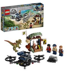 LEGO Lego Jurassic World 75934 Dilophosaurus ontsnapt - Dilophosaurus On The Loose - Jurassic World