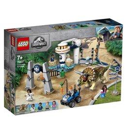 LEGO Lego Jurassic World 75937 - TriceratopschaosRampage - Jurassic Parc
