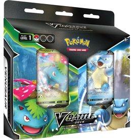 The Pokemon Company Pokémon  TCG V Battle Deck Bundle Venusaur vs Blastoise