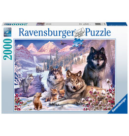 Ravensburger Ravensburger Puzzel 160129  Wolven in de sneeuw  2000 stukjes