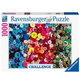 Ravensburger Ravensburger Puzzel 165636 Challenge Knopen  1000 stukjes - Challenge Buttons