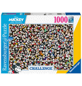 Ravensburger Ravensburger Puzzel 167449 Challenge Disney Mickey  1000 stukjes