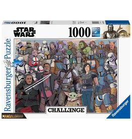 Ravensburger Ravensburger Puzzel 167708 Challenge Star Wars Mandalorian  Baby Yoda 1000 stukjes
