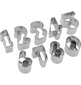 Westmark Westmark Set van Uitsteekvormen Cijfers 0 t/m 9 - 2,5cm