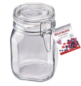 Westmark Westmark Beugelpot Glas (1 l, ø 90 mm)