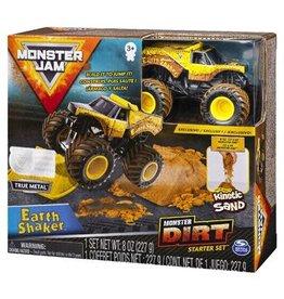 Spin Master Monster Jam 1:64    Dirt Starterset  Earth Shaker (geel)