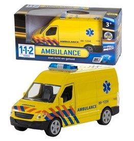 112 Ambulance + Licht en Geluid, Pull back
