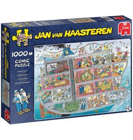 Jumbo Jumbo puzzel Jan van Haasteren 20021 Cruiseschip 1000 stukjes