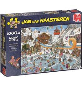 Jumbo Jumbo puzzel Jan van Haasteren 19065 De Winterspelen 1000 stukjes