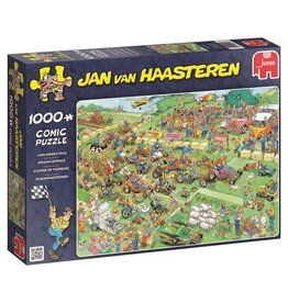 Jumbo Jumbo Puzzel Jan van Haasteren 19021 Grasmaaierrace 1000 stukjes